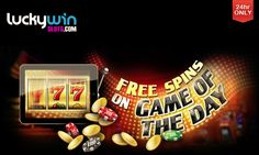 It's Wednesday and that means we're giving all of our lovely players FREE SPINS as part of our Game of the Day promo.  Log into your account and get yours now - valid for 24 hours only! https://goo.gl/W60qBd #slots #freespins #luckywinslots