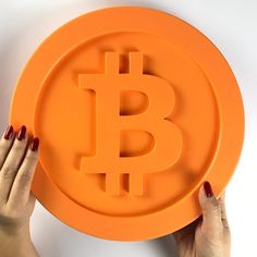 Bitcoin Bitcoin Logo, Silicone Molds, 3d Printing, Tray, Printed, Wall Hanging Decor, Valentines, Easter, Birth