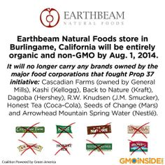 What an amazing step for a grocery food chain to make.  I would support your efforts if your store was here.