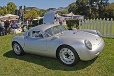 Photo: Picture 1 - LIVE: Vintech's Porsche 550 tribute breaks cover in Pebble Beach