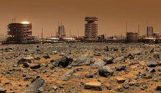 Lowell City/ Mars, 2103 - Population: 3.4 mio