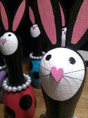 bunny bowling pin