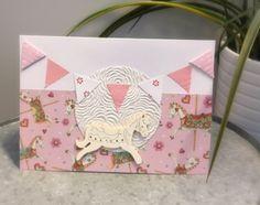 Vauvakortti I Card, Handmade, Hand Made, Handarbeit