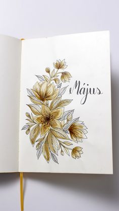 Bullet Journal 2018 May - Paint with coffee
