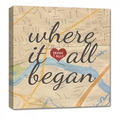 Gifts for the men in your life Holiday Gifts for him or her .. MAP LOVE Heart YOUR location