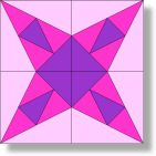 Iowa Star - Free Quilt Block Pattern