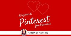 """Cinzia Di Martino ci parla dello stato di salute di Pinterest e perché questo social può essere considerato il """"migliore amico"""" degli albergatori."""