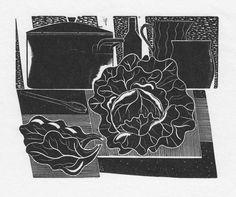 """Jonathan Gibbs """"Choux"""" wood engraving"""
