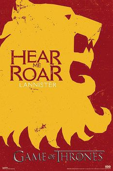 Game of Thrones - Lannister Poster, Art Print