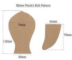 Image result for Mr Finch bulb template