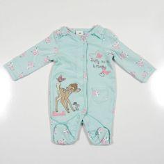 Disney Baby Sleepsuits Winnie Bambi Dumbo Mickey Minnie Mouse TB - 24 Months