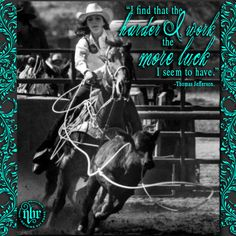 NBR Nothing But Rodeo www.nbrnothingbutrodeo.com Rodeo Lifestyle Wear for Men Women and Children. Like us on Facebook!! nothing but rodeo. rodeo. cowgirl. hard work. luck. rodeoquote. breakaway