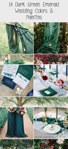 Emerald bridesmaid dresses wedding color palette dutsy rose green wedding spring #GoldBridesmaidDresses #WhiteBridesmaidDresses #DavidsBridalBridesmaidDresses #NeutralBridesmaidDresses #BridesmaidDressesHijab
