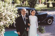 La boda de Elena y Pepe: una novia con mucho estilo | La Boda Del año por Sara Rivera