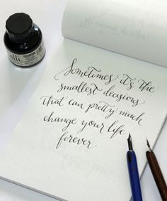 A Calligraphy Tribute to Felicity via Happy Hands Project
