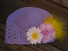 SALE Sweet Baby Girl Crochet infant hat by kimlovespink on Etsy, $6.99