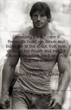 Jagged ~ Kristen Ashley ~ Oh my Lord, I need to read this book!!!!