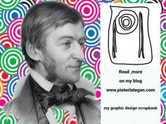 Artist: Pieter Lategan Graphic Design Scrapbook Title: Ralph Waldo Emerson (May 25, 1803 – April 27, 1882) Scrapbook Titles, April 27, Emerson, About Me Blog, Pencil, Sketches, Graphic Design, Reading, Artist