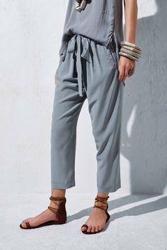 Karate Silk Pants - Urban Zen