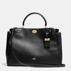 Large Gramercy Satchel in Leather