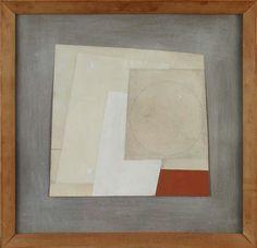 Ben Nicholson Cardboard Art, Encaustic Art, Contemporary Abstract Art, Mid Century Art, Black And White Abstract, Artist Art, Painting Inspiration, Sculpture Art, Painting & Drawing