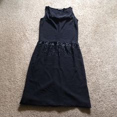 Black beaded cocktail dress Beautiful dress by Valerie Dresses. Size 14. Acetate/polyester blend. It slips over the head with a draped neckline in front, open slit at back for a slight show of skin as you move. Zipper at waist back. Some of the beads are loose. The hem is loose & may need to be repaired with a few stitches. I did price accordingly. This dress is lovely! Thanks for looking! All offers welcome! Valerie dresses Dresses