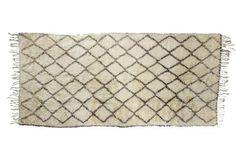 Large Vintage Moroccan Beni Ourain Rug
