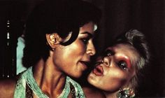 Bianca Jagger & Angie Bowie, c. 1970s.
