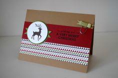 stampin up warmth & wonder weihnachtskarte