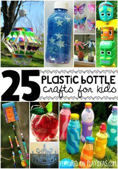 plastic bottle crafts for kids