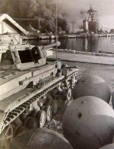 Panzer IV tank, 1942 French Fleet scuttle in Toulon