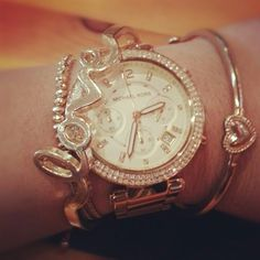 Love the bracelet stack!