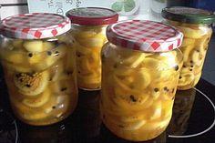 Pikante Honig - Senfgurken, ein schmackhaftes Rezept aus der Kategorie Haltbarmachen. Bewertungen: 6. Durchschnitt: Ø 3,5.