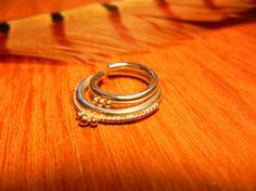 Shankhamala. A Layered Septum Ring. Large Gauge. by BeleafJewelry, $95.00