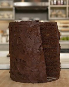 "Satisfy any sweet tooth with this decadent dessert from award-winning pastry chef Alain Roby of the Chicago Hyatt. On ""The Martha Stewart Show,"" Alain and Martha used a larger version of this recipe to bake a cake that was more than 6 feet tall."