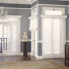 1000 images about co op living room on pinterest for Window treatments for door walls