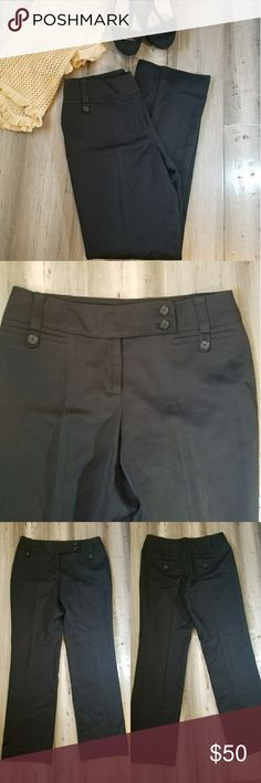 Ann Taylor Petite Size 4 Black Pants Outstanding condition. They are SO silky smooth. Ann Taylor. Size 4 Petite. Black. 29.5 inches inseam Ann Taylor Pants Ankle & Cropped