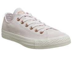 71133b861e6c59 Converse All Star Low Leather Pale Quartz Egret Barely Rose - Hers trainers