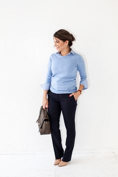 Casual Interview Outfit. Great for: Advertising, PR, Logistics, Editorial, Real Estate