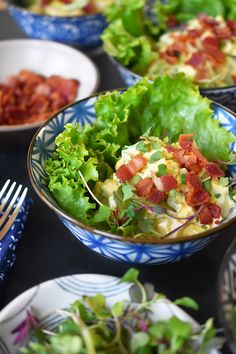 Bacon Deviled Egg Salad by Michelle Tam https://nomnompaleo.com