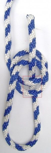 Double Bowline Knot for tree swing DIY-