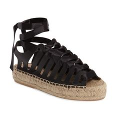 61350732ee75 Shop for Women s Krown Wraparound Platform Sandal by Topshop at ShopStyle.