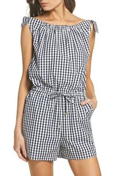 Find and compare Tory Burch Gingham Check Romper across the world's leading online stores! Spring Fashion Outfits, Spring Summer Fashion, Fashion Dresses, Short Outfits, Casual Outfits, Tory Burch, Gingham Check, Rompers Women, Grunge