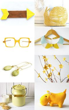 Sunny Yellow  #yellow #spring #gifts #for her #homedecor #etsy #craft #handmade