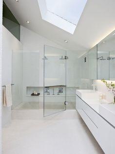 bathroom idea, sunken bath?
