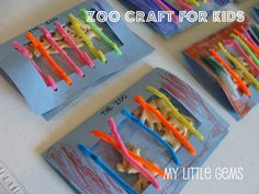 Such a cute idea for zoo-loving little ones: Craft your own zoo for animal crackers. I'm now thinking bigger… like a whole scale model of a zoo made of shoe boxes and astro-turf, so I n… Family Crafts, Crafts For Kids, Baby Crafts, Happy Zoo, Zoo Animal Crafts, Dear Zoo, Daisy Scouts, Girl Scouts, In The Zoo