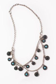 Double Row Convertible Necklace or Bracelet