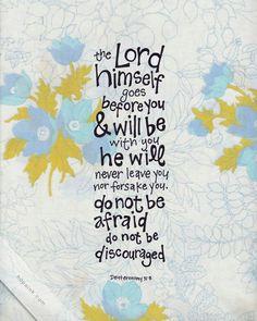 Dueteronomy 31:8