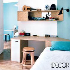A composição em adornos e objetos confere personalidade ao dormitório