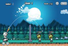 Pon a prueba tu puntería! Derriba a los zombies! http://mundobanana.com/Robot-vs.-zombies-10001783.html